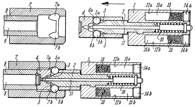 US_Patent_3283435_8-Nov-1966_BREECH_CLOSURE_Theodor_Koch