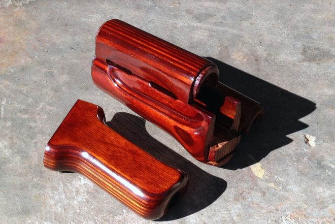 with Ironwood Designs to provide my customers with authentic U S  made  versions of just about every set of classic communist bloc AK furniture  made. Combloc Customs  Handfinished AK Wood Furniture   The Firearm