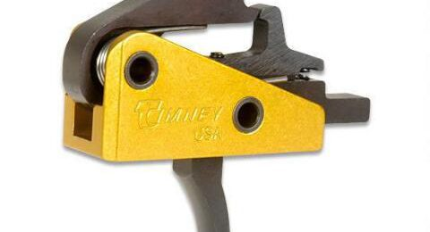 A drop in Timney Trigger. Timney was sued by Mossberg for infringing on their patents.