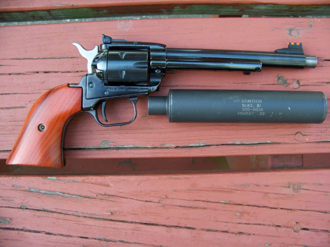 Revolvers Can't Be Suppressed  Or Can They? -The Firearm Blog