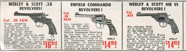 surplus revolvers