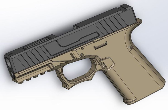 Polymer80 Spectre 80% Frames In New Colors and G19 Frames on