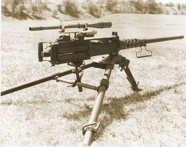 For 35 Years, The Longest Sniper Kill Was With a Ma-Duece - The Firearm BlogThe Firearm Blog