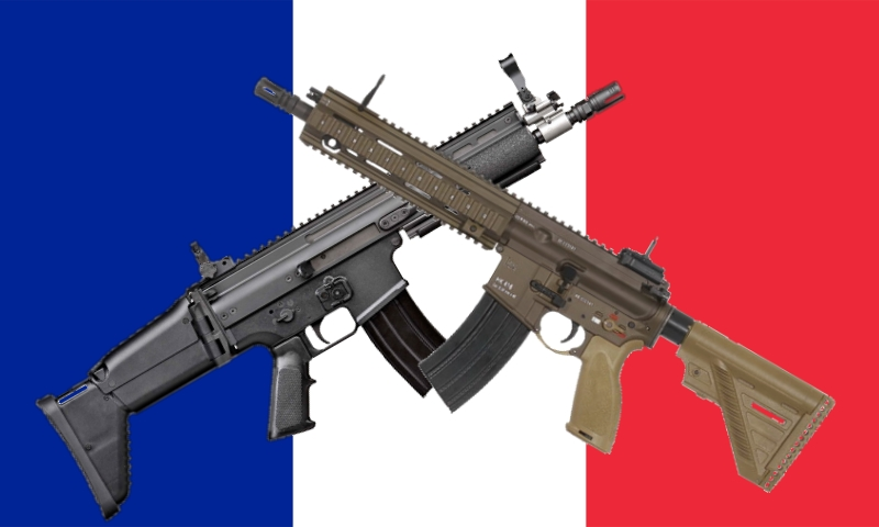 Breaking France Downselects Famas Rifle Replacement To