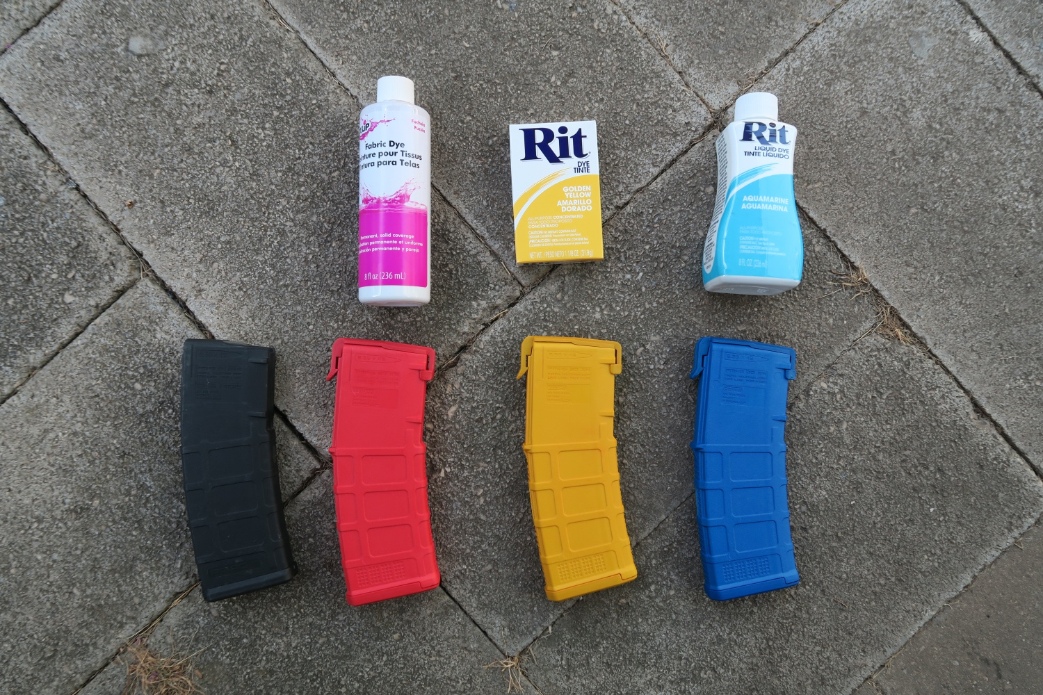 When Dyeing Pmags Liquid Or Powdered Dye The Firearm