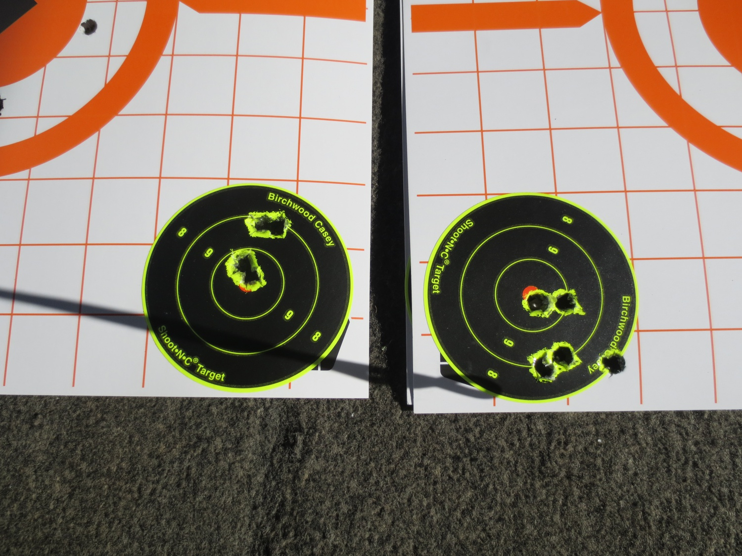 Groups with Federal Gold Metal Match. The B-14 loved this load.