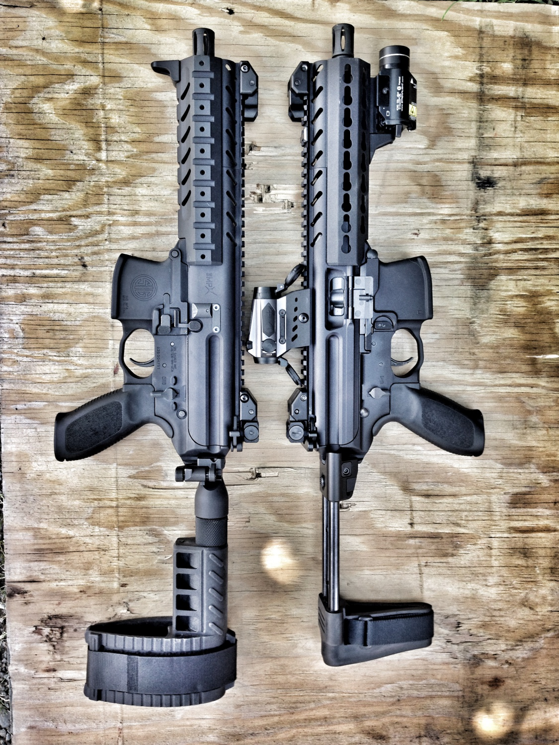 Review: SB Tactical's New Collapsing Sig MPX Brace -The Firearm Blog