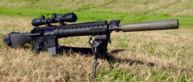 Allen Engineering And The Silencer For The Mk12 The Firearm Blog
