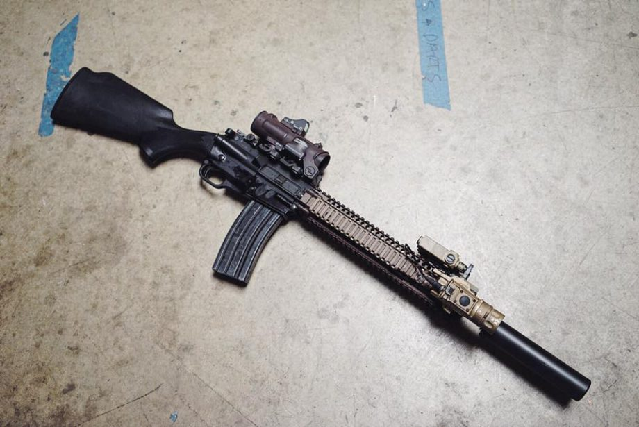 Tricked Out Accessories >> POTD: Tricked out ARES SCR Rifle - The Firearm BlogThe ...