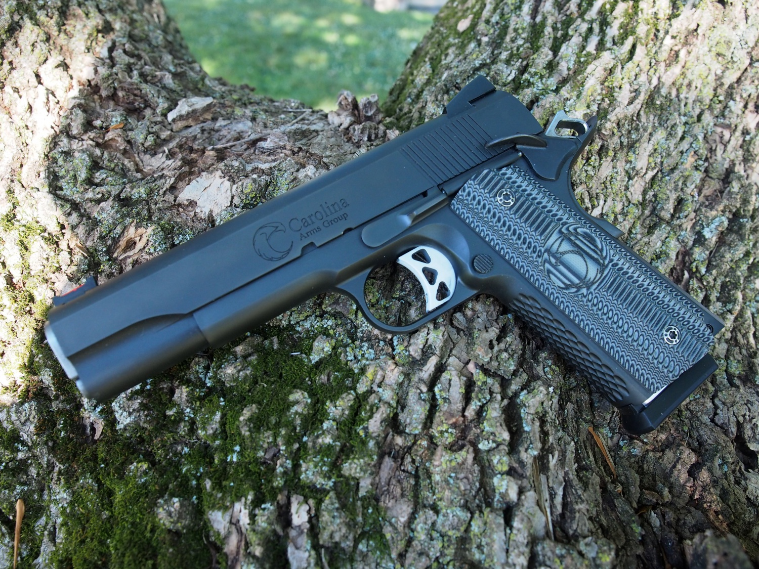 Black Tactical Trenton with PVD coating.