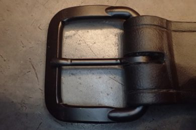 The cerakoted buckle hasn't scratched or worn at all despite being in gravel and dirt