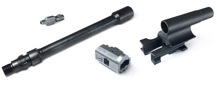 Barrels and bolts from Rim County Manufacturing