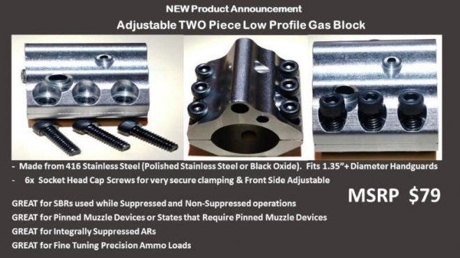 Witt Machine Gas Block
