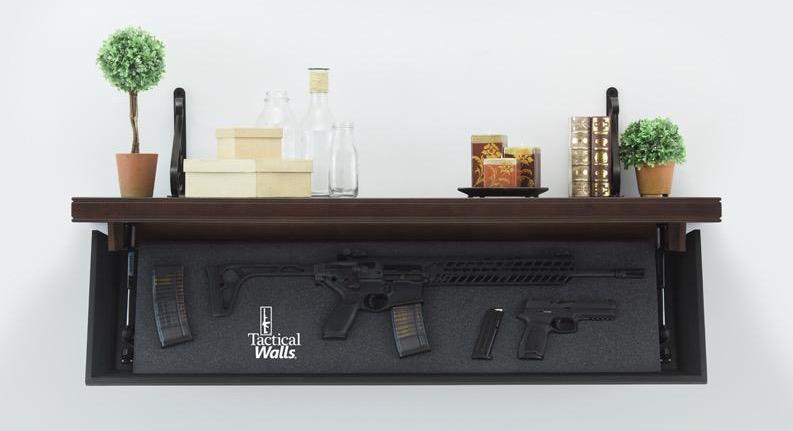 A New Concealed Shelf Storage Solution For Long Guns The