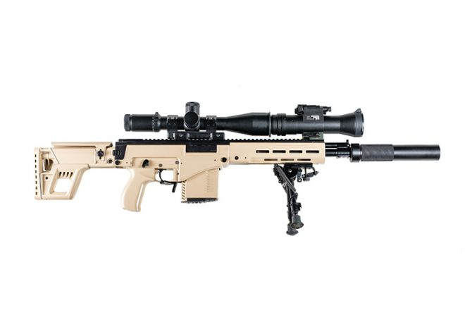 BREAKING: Kalashnikov Concern Introduces New SVK ... M14 Tactical Sniper Rifle