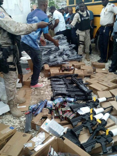 Haiti Seizes Truck From Miami Full Of Weapons -The Firearm Blog