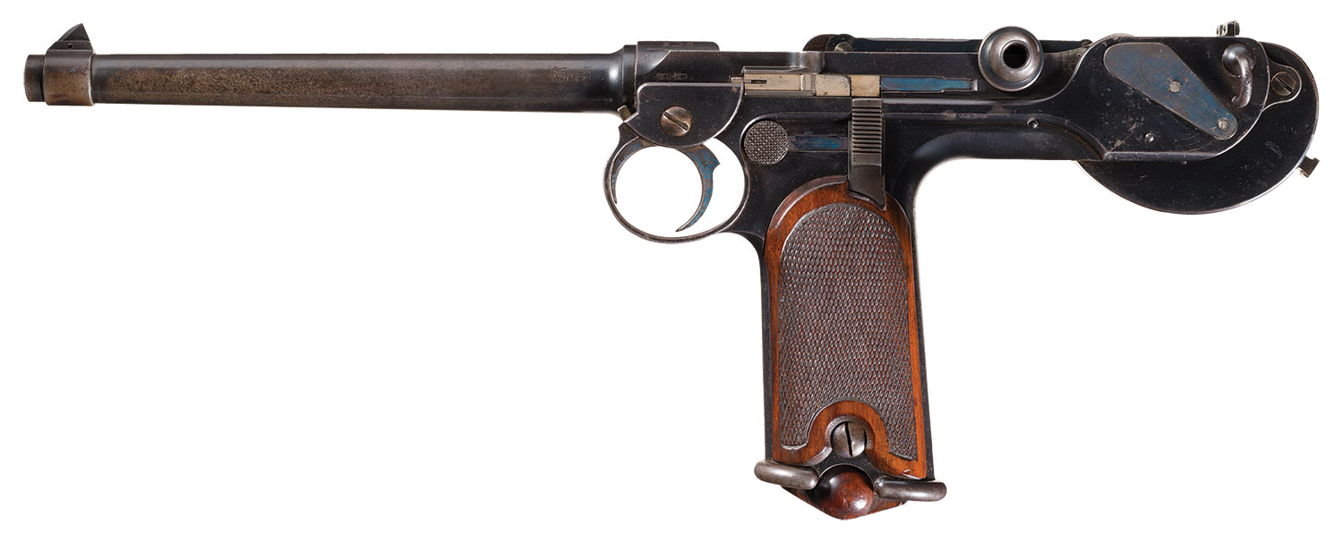 Astute readers will notice that this is not a picture of a lever-action rifle. Image source: Rock Island Auction.