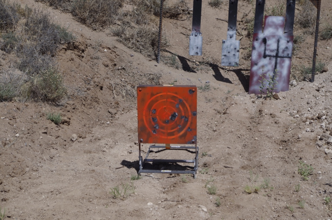 Mason Target Systems at 400 yards.