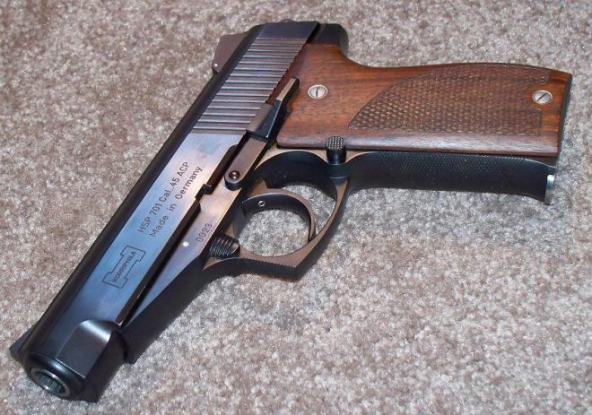 """4"""" barrel HSP 701 serial number 23 from 1984-first year of manufacture"""