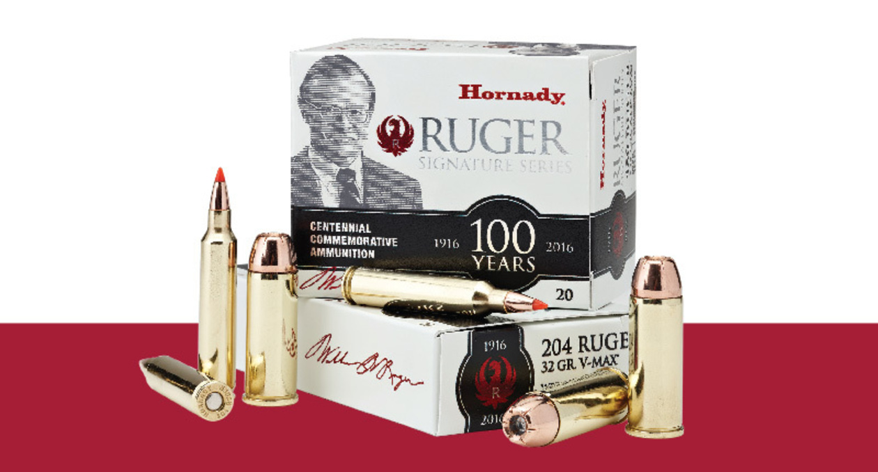 Hornady Releases William B. Ruger Commemorative Ammo
