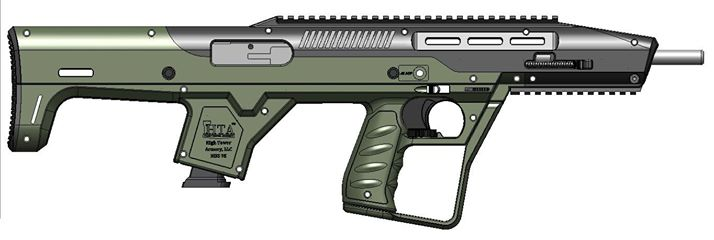High Tower Announces New Bullpup Chassis For Hi Point