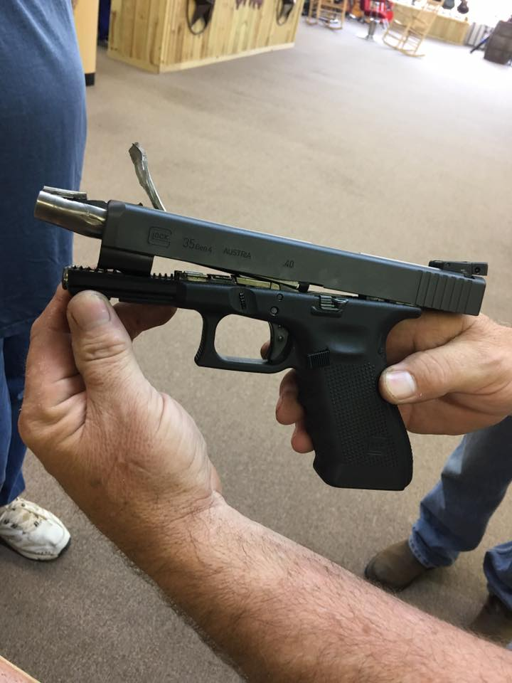 Glock 35 Exploded The Firearm Blogthe Firearm Blog