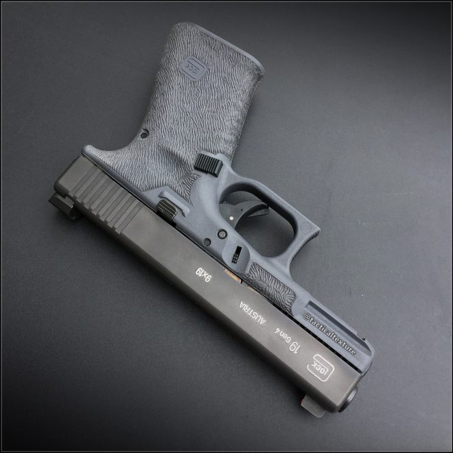 The Best Glock 19 Stipple Job From Tactical Texture and Triggers ...