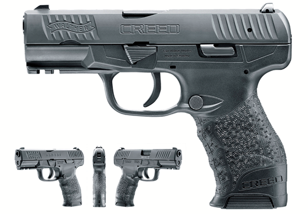 """Walther Introduces New """"Creed"""" Pistol 