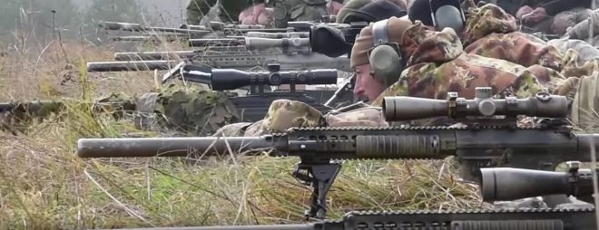 The M2010 Enhanced Sniper Rifle In Action