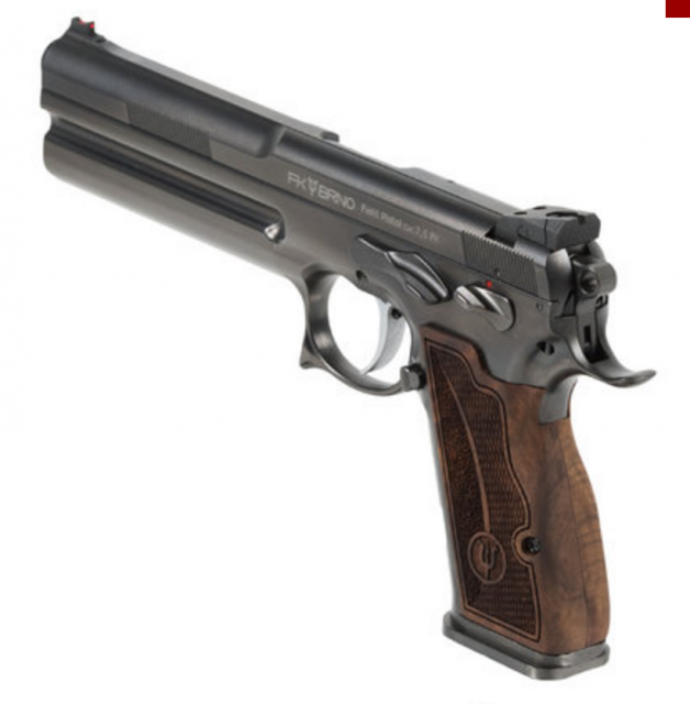FK BRNO Announces Immediate Importation to the USA of the 7.5 Field Pistol