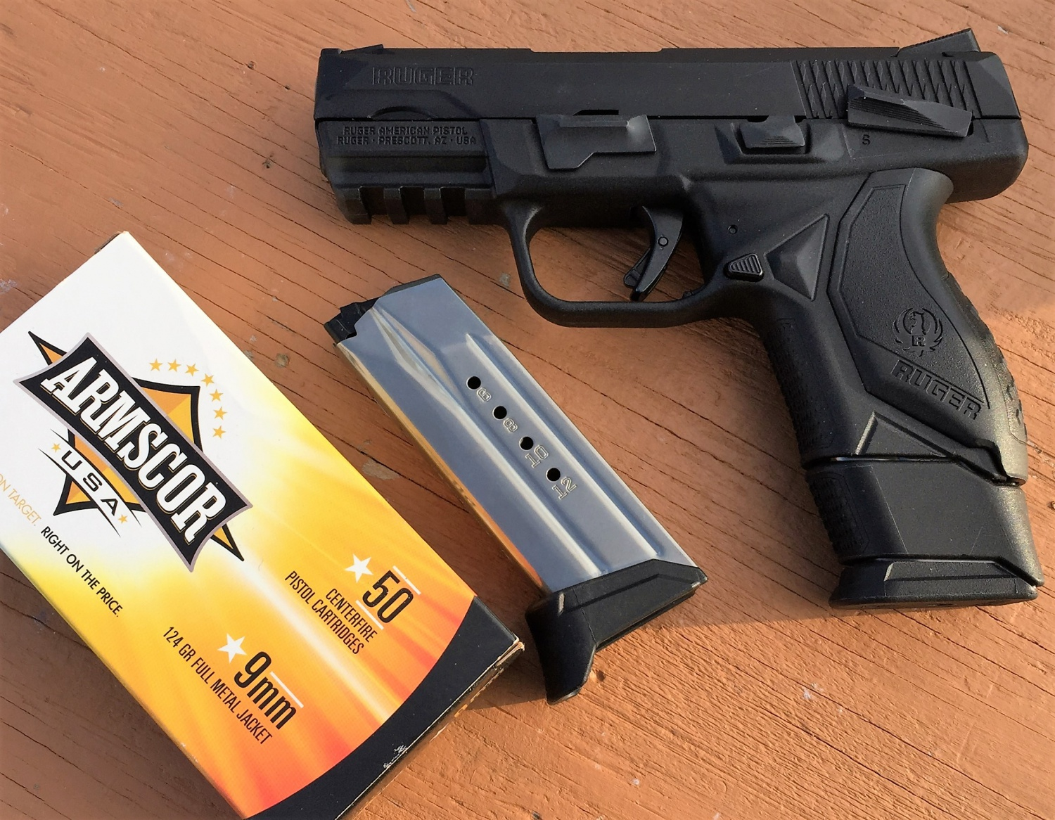 Review: Ruger American Compact Pistol -The Firearm Blog