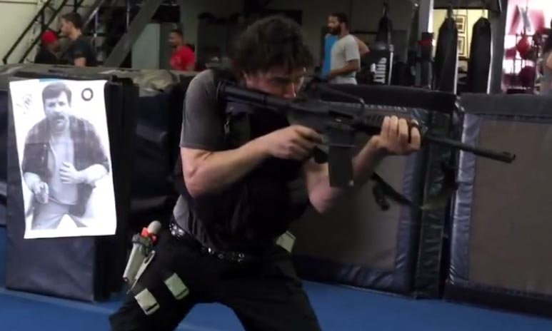 Keanu Reeves Training For John Wick 2 With Aaron Cohen