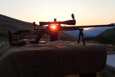 The best way to watch sunrise...at the range!