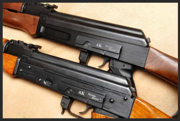 Finally! An AK Receiver Optic Rail - No Welds Required -The Firearm Blog