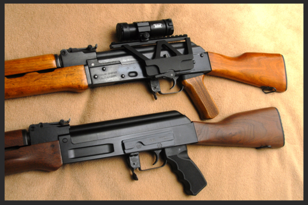 Finally! An AK Receiver Optic Rail - No Welds Required -The