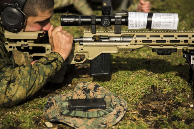 M40A6s operational in USMC Scout Sniper Platoons - The Firearm ...