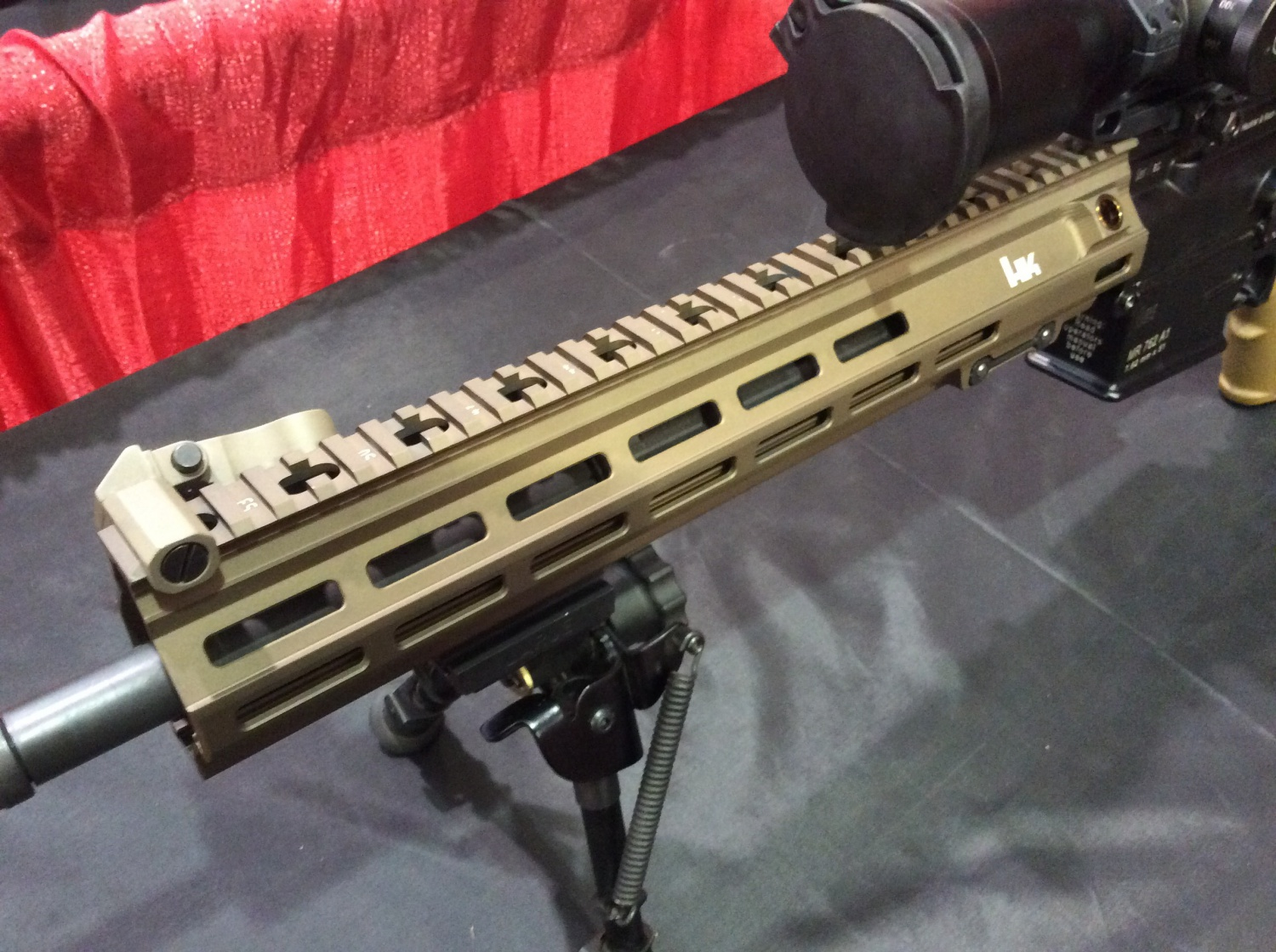First adoption of M-Lok by the U.S. Military