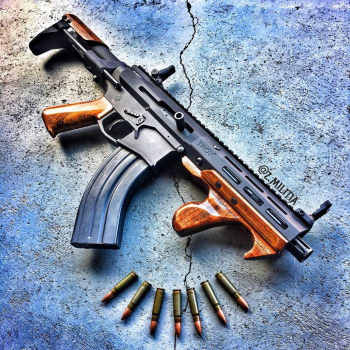 Potd Modern Touch Of Wood And Metal The Firearm Blog