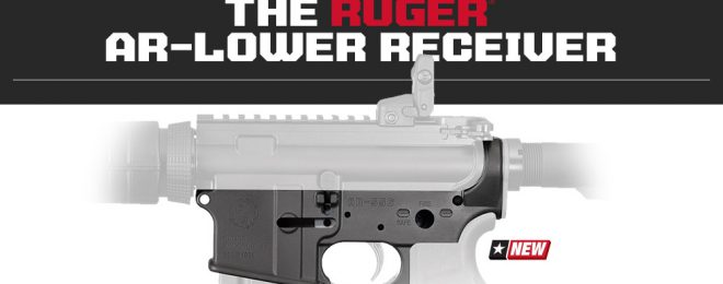 Ruger AR-Lower Receiver