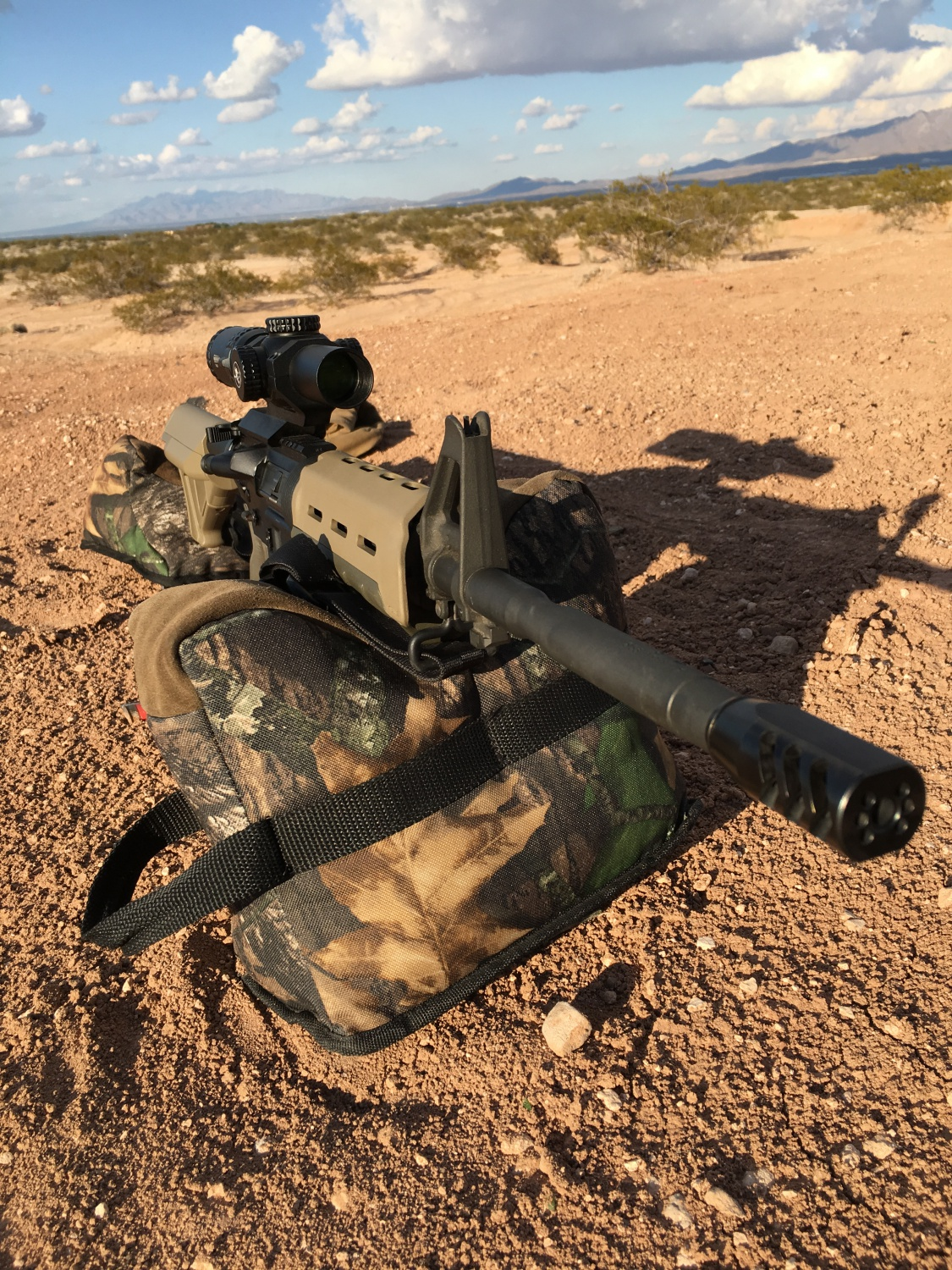 The Crux Ord Muzzle Brake