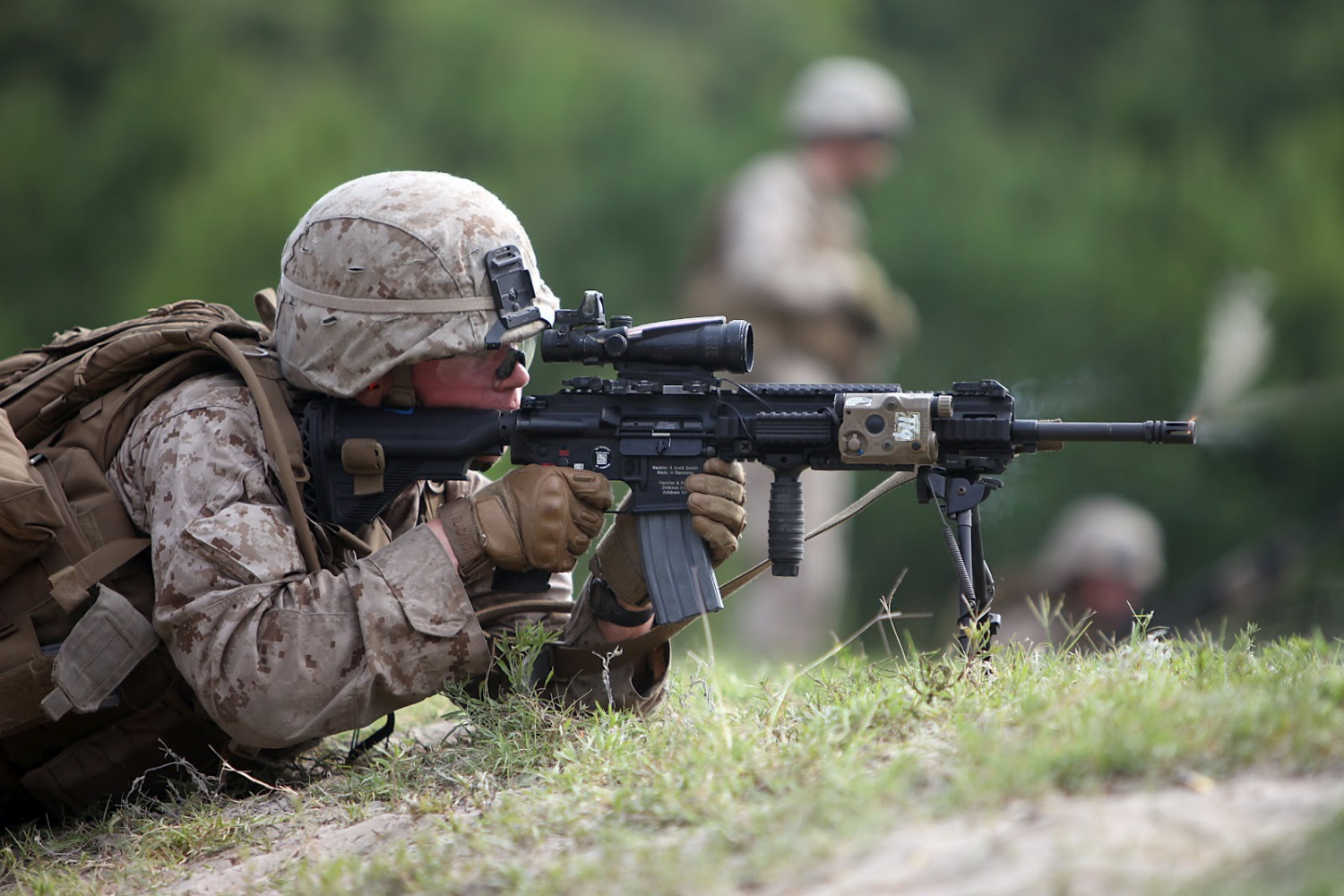 Will the Marine Corps Replace the M4 with the HK416? USMC ...