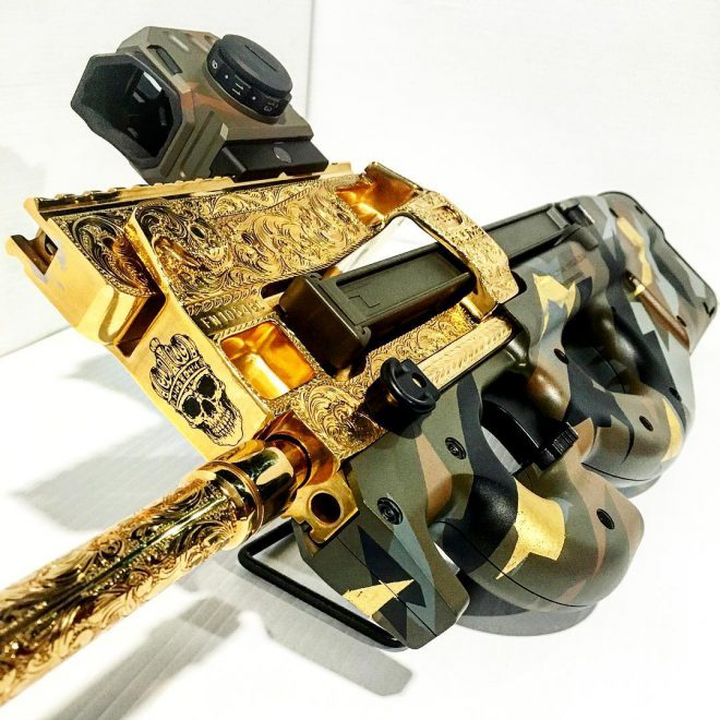Fn Ps90 Supreme Bling Edition The Firearm Blog