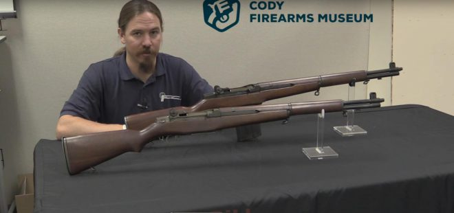 Winchester's Magazine-Fed M1 Garand Variants at the Cody