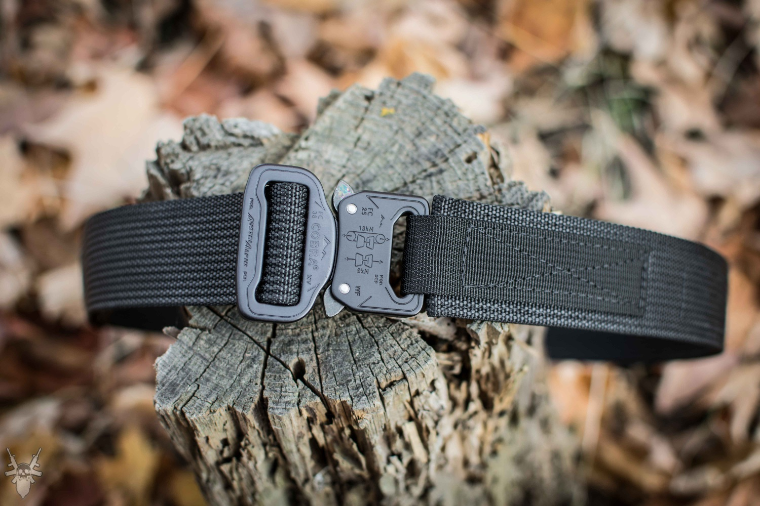 6584f84676efd Blue Alpha Gear Gun Belt With New Type Cobra Buckle -The Firearm Blog