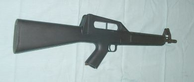 "The semi-auto CE MOD.01 was successfully tested and approved in Brazilian Army examination for ""permitted-use"" (non-military) guns in 1982."