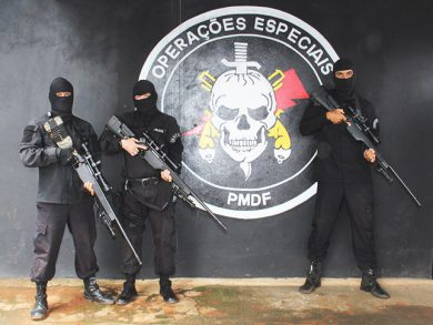 The Sig Sauer SSG3000 bolt-action rifle is a somewhat rare bird in Brazil's LE community. It serves PMDF – Polícia Militar do Distrito Federal (Federal District Military Police) in its BOPE unit, in Brasília, the nation's capital.