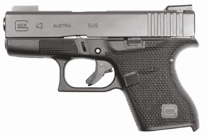 Laser Stippled GLOCK 43