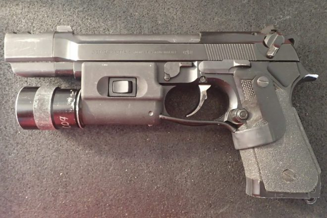 Special Forces Pistol: Standard Issue Beretta M9 Evolved