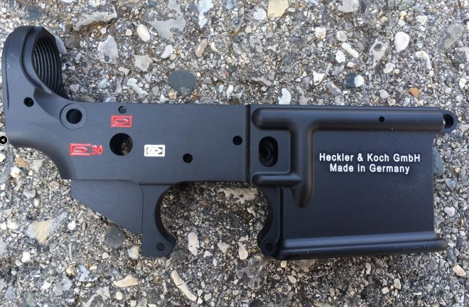 HK416 Lower and full auto parts for sale in Europe -The Firearm Blog