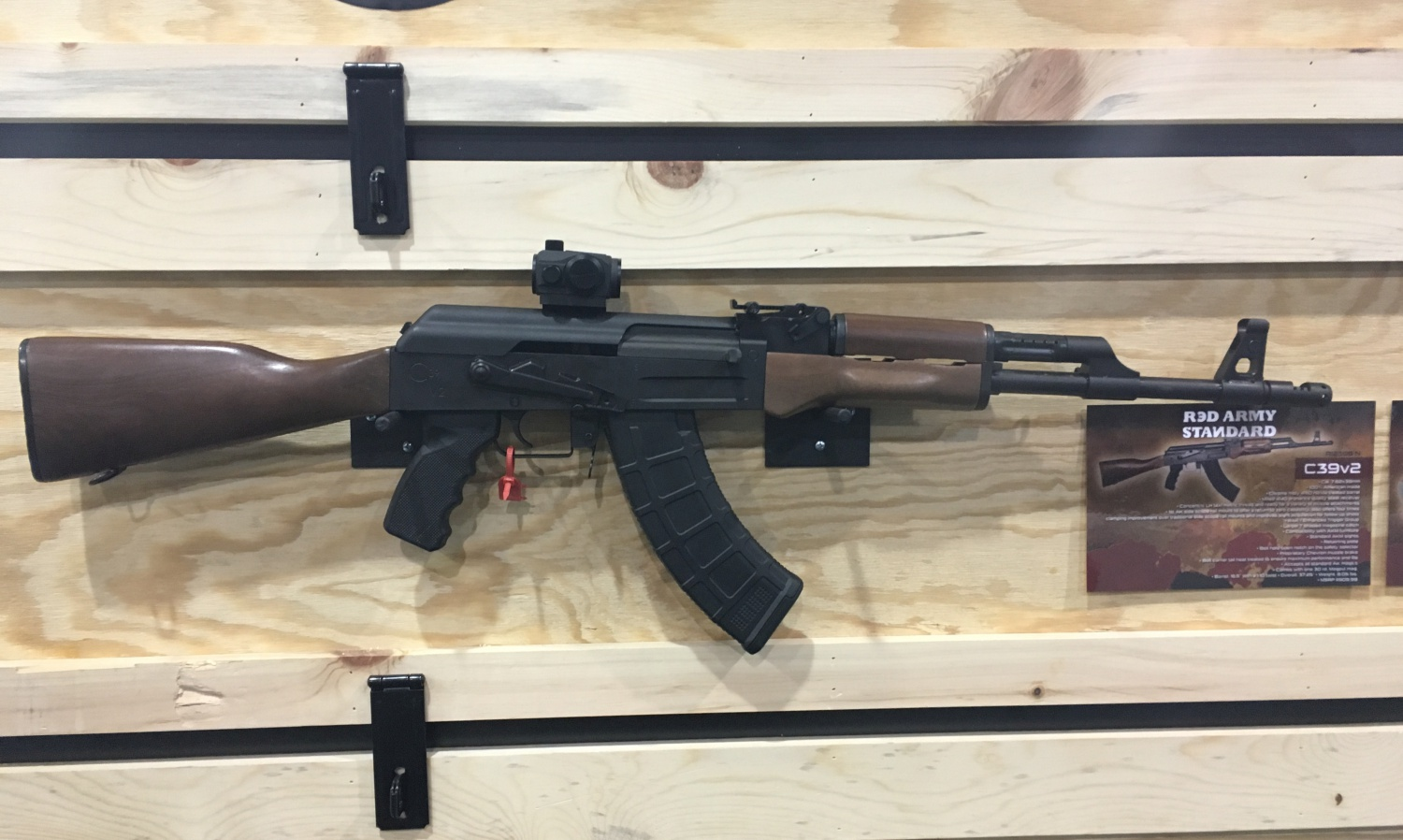 Century Arms C39v2 Red Army Standard Shot 2017 The